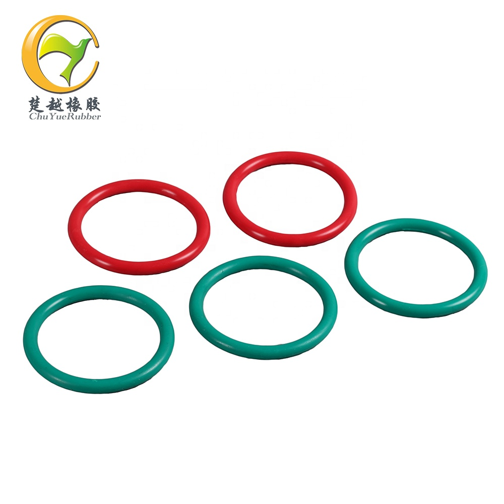 heat resistance fkm fabric v packing / red color vee packing /hydraulic fkm multiple lip chevron packing seals