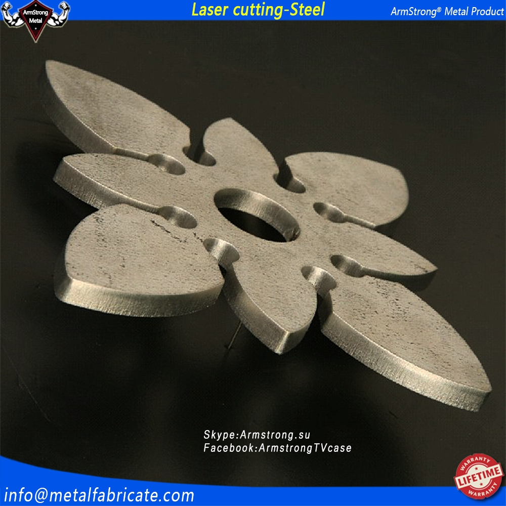 ArmStrong Metal ARMS047LC wholesale mid medium thick plat 7mm 8mm 9mm FE ferrum CRS sheet metal cnc laser cutting service manufa