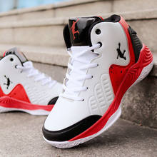 Новая мужская Баскетбольная Обувь Jordans с высоким берцем, Мужская амортизирующая обувь, баскетбольные кроссовки, противоскользящая дышащая ...(Китай)