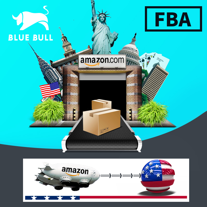 Amazon fba deur tot deur levering service fba expediteur internationale luchtvracht tarieven China scheepsagent naar USA