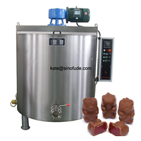 Stainless steel constant temperature chocolate storage holding tank/chocolate oil melting tank/chocolate making machines