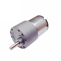 12v 24v low rpm 37mm 4 rpm small spur gear dc motor for electronic lock