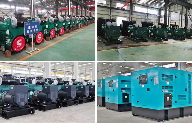 Electric generator weichi power 900kw three-phase water cooling industrial diesel generator