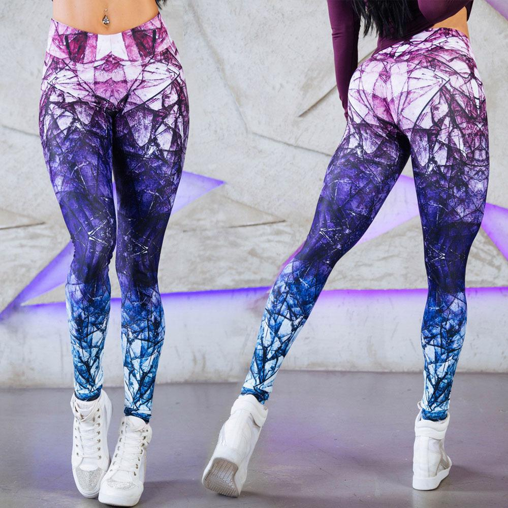 مخصص الرياضة اليوغا السراويل المطبوعة طماق ملابس اللياقة البدنية لليوغا ، اليوغا leggin