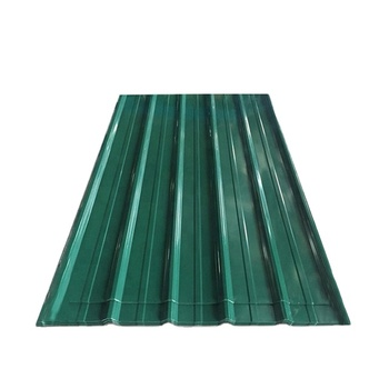 Corrugated PPGI steel / metal / iron roofing sheet in RAL color/30 gauge corrugated steel roofing sheet
