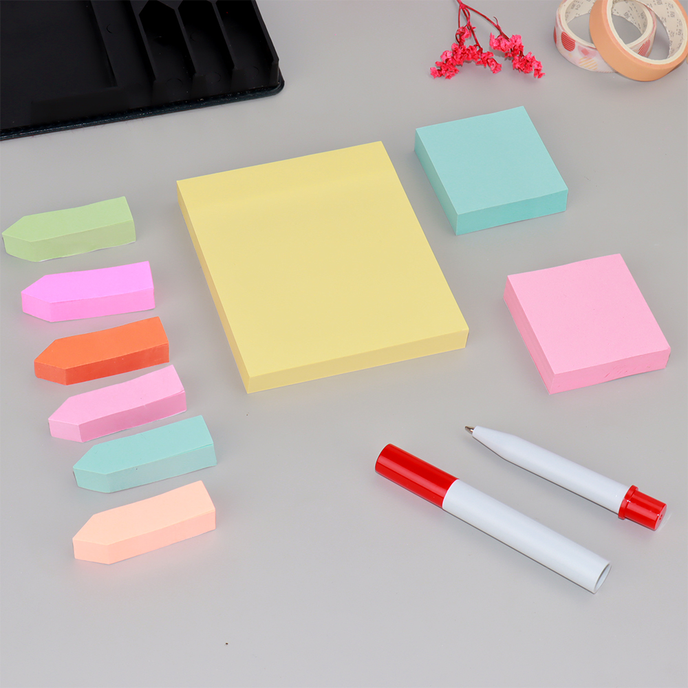 Wholesale memo pad 10 kinds of combination classical sticky note stationery set