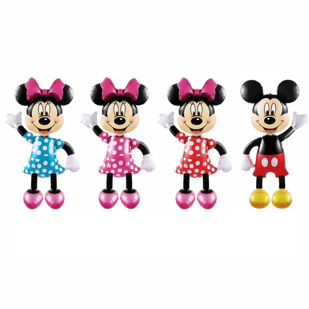 Cartoon In Piedi super Minnie Mickey mouse 170 centimetri gigante aerostati della stagnola