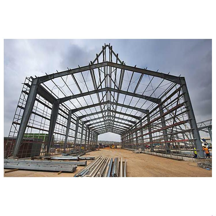 Стальная конструкция чертеж сборный завод/galpones prefabricados стальная рама сарай/сборные здания