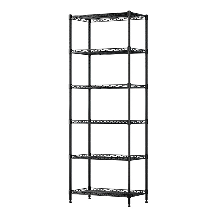 USUN Multifunction Home 5 Tier Wire Black Metal <strong>Holder</strong> Kitchen Storage Rack