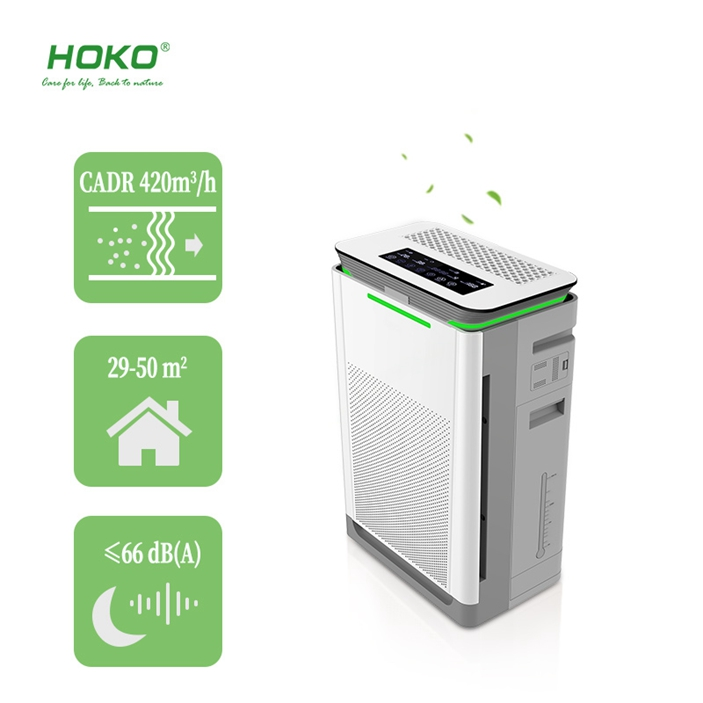 CE Certification Warranty 1 Year Air Purifier Hepa Filter Ionizer Room Personal Air Purifier With Hepa Filter