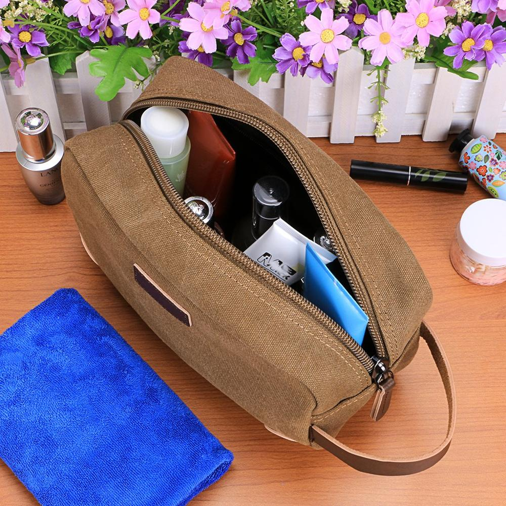 Mans reise wash bag hanging Toiletry Kits Tasche