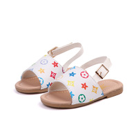 Summer girls princess shoes sandals baby non-slip soft bottom toddler shoes 1-3 years old children's beach shoes