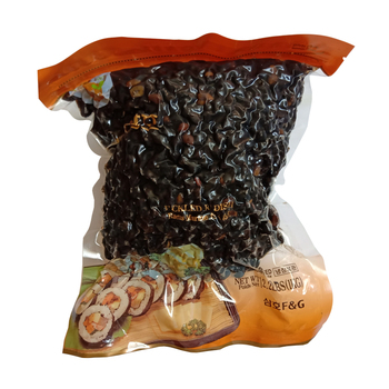 natural Vacuum bag organic snack boiled sweet black beans Cooked Sweet Beans