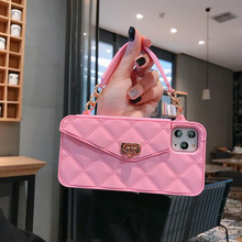 Fashion Crossbody Dompet Ponsel Case untuk <span class=keywords><strong>Iphone</strong></span> X 11, untuk <span class=keywords><strong>Iphone</strong></span> 11 Pro Max Ponsel Mewah Case Tas