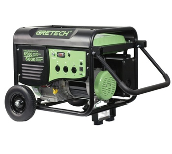 Gretech 6kw home use generator LPG and NG fuels optional small gasoline generator