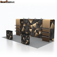 Quick Setup Aluminum Alloy Portable 10x20 Trade Show Booth Stand Design