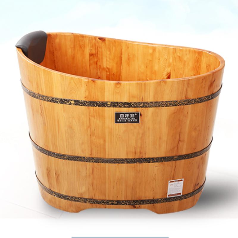 Cask Barrel Bath Tub Solid Wood