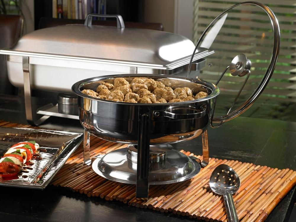 L4004 Stainless steel chafing dish copper chafing dish made in china