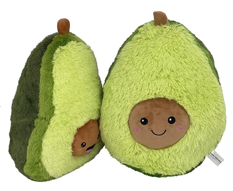 2020 Hot sale plush toy Avocado stuffed soft toy pillow kawaii plush avocado cute fruit plush toys