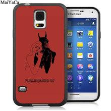 Чехлы для телефонов MaiYaCa с изображением красных дудлов для samsung Galaxy S5 S6 S7 edge S8 S9 S10 Plus Lite Note 8 9 задняя крышка(Китай)