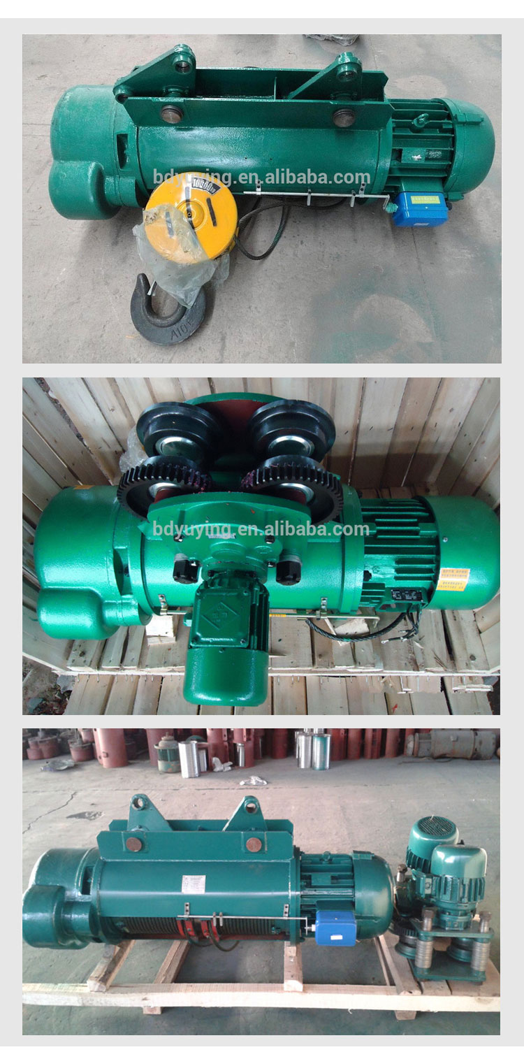 quiet electric wire rope engine hoist used in home