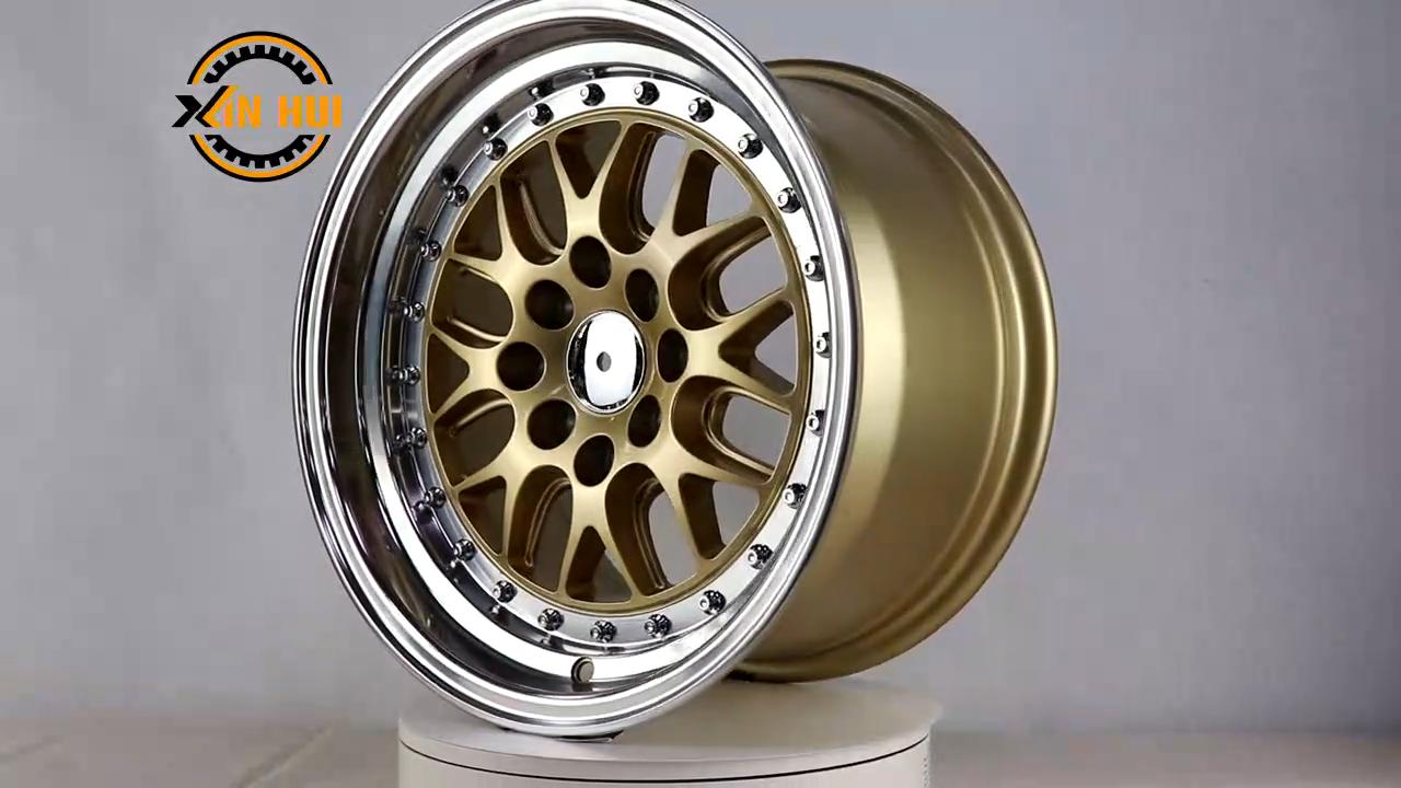 15/16/17 inch rays g25 alloy wheel with pcd 108/ 4x100/114.3 alloy wheel rim rays wheel te37/ te28 in stock