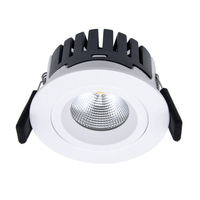 Good Quality IP44 Dimmable Cob Recessed Lights Led Downlights