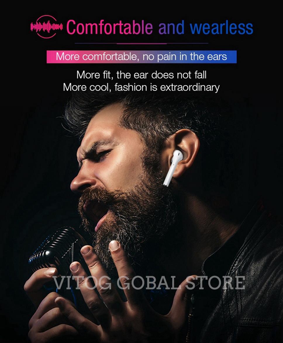 Original I18 TWS Earphpnes Touch Mini Bluetooth 5 0 Wireless