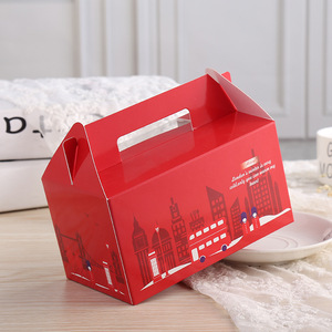 Cake Packaging Box Custom White Card Carton Wholesale