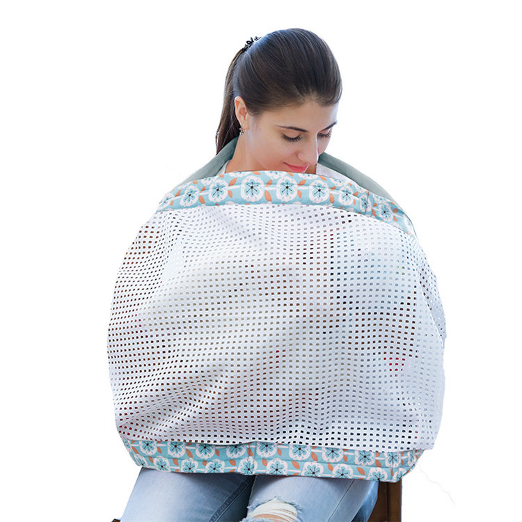 OEM pure color light grey close skin cotton carrier baby wrap sling ergonomic
