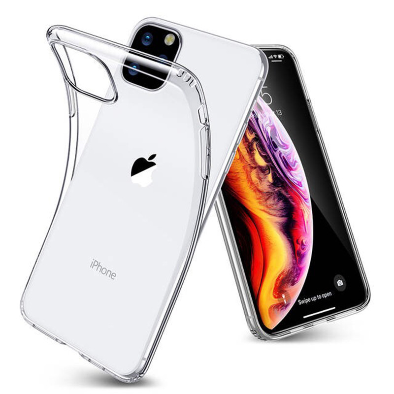 Clear TPU Silicon Case voor iPhone XS Case voor iPhone X XS Max XR SE 6 6 S 7 8 plus Ultra Dunne Beschermende Transparante Soft Covers