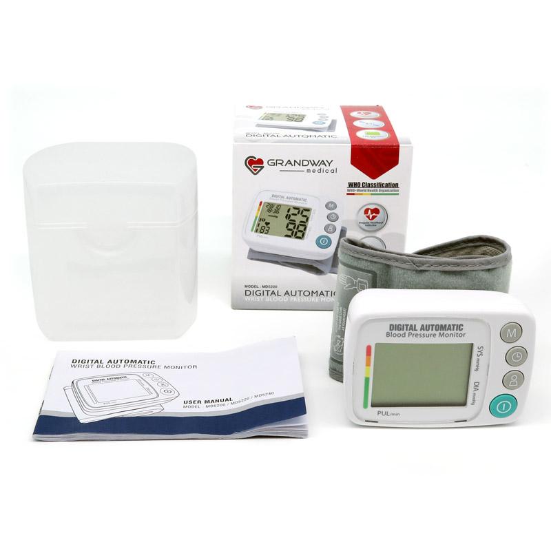 Фабрика OEM анероидный запястья Bpm Метр Машина прибор для измерения верхнего типа Сфигмоманометр дисплей цифровой BP аппарат прибор для измерения артериального давления