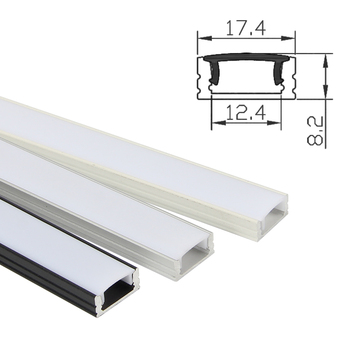 3m Aluminum U LED Channel Profile,china Extruded U Shaped LED Aluminium Profile for LED Strip Light