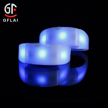 Event Decoration Craft Supplies DIY Charm Electric Glow In The Dark Bracelet For Halloween
