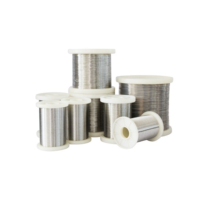 Electric heating flat ribbon wire nichrome 80 20 Ni80 Cr20 alloy resistance wire