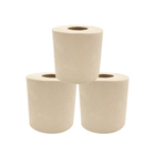 Eco biodegradable household bamboo toilet roll tissue paper