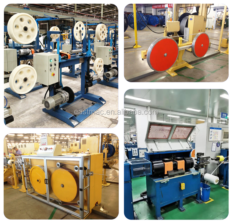 High speed good quality fiber optic cable SZ stranding line for cabling multi mode single mode outdoor cable