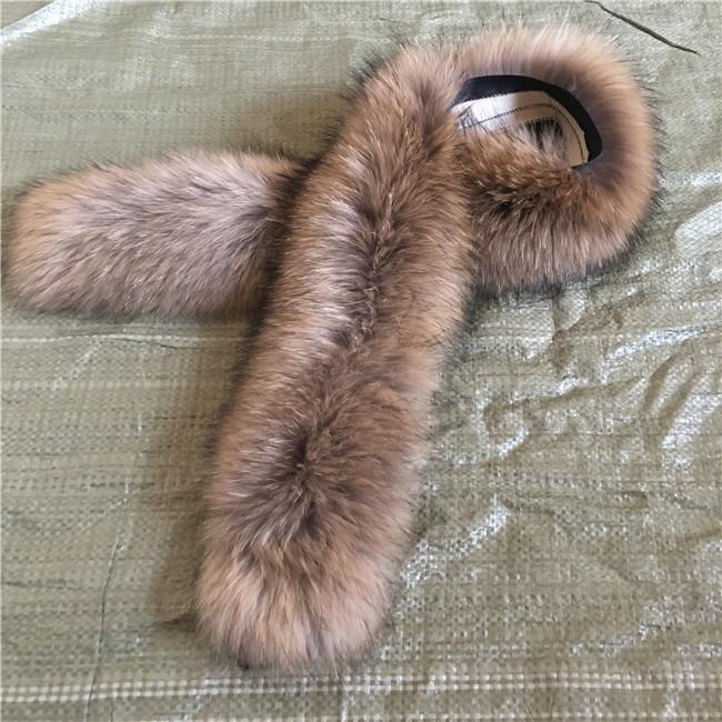 Custom Made Raccoon fur Scarves Wholesale