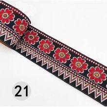 7 м/лот вышивка национальная лента ширина 5 см тканая жаккардовая кружевная отделка Ткань DIY Швейные аксессуары ручной работы HB185(Китай)