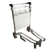 3 Wheel Stainless Steel Air Line Trolley for Passenger