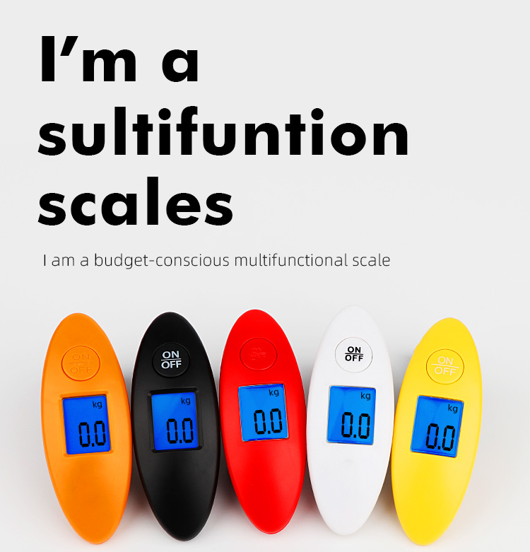 Hot Selling 40kg Mini Digital Luggage Scale for Travel