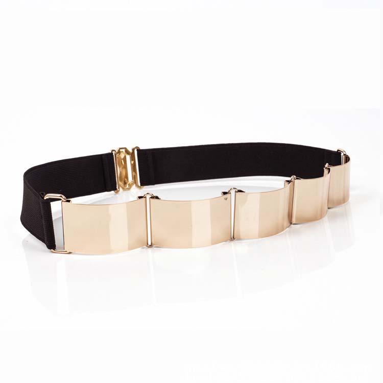 width 3cm fashion decorative waist metal belts