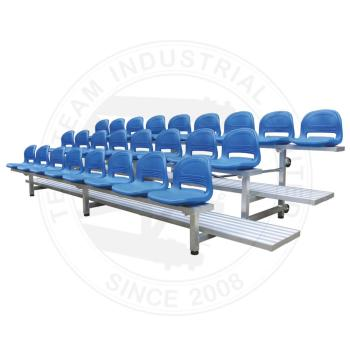 Latest movable aluminum bleachers seating with TUV certificated