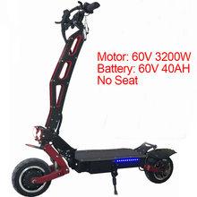 3200 Вт 60 в электрический скутер 11 дюймов скейтборд 95KMH Лонгборд для взрослых Электрический складной Ховерборд Patinete Eletrico велосипед(Китай)