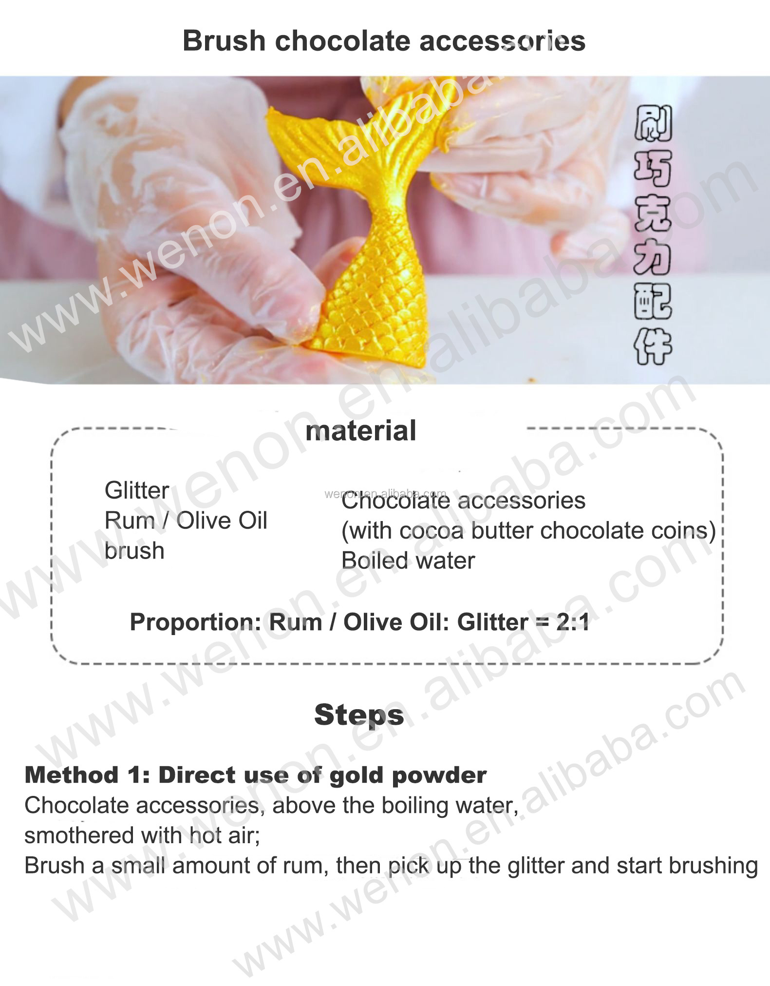 Cake Icing Dust Gold Edible Luster Dust For Cake Icing ...