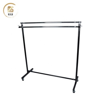 Double Pole Balcony Clothes Drying Rack