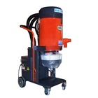HEPA dry vacuum cleaner for floor grinding job with self cleaning, automatic cleaning dust extractor, 230V vacuum