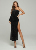 Sexy One Sleeve Women Evening Clubwear Celebrity Night Clubwear Long Party Dress