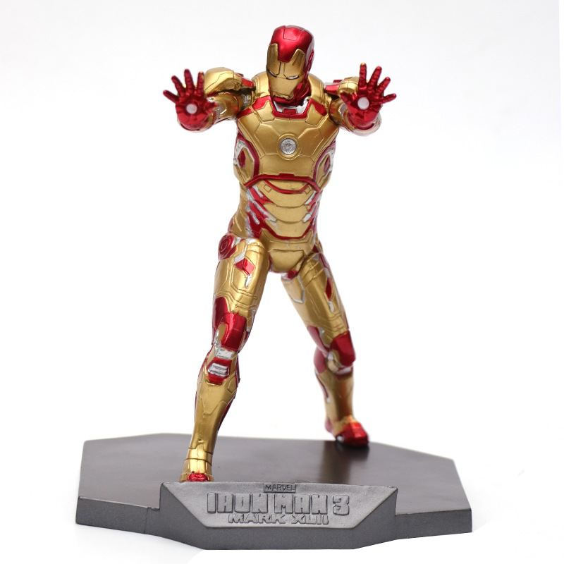 PVC MARK3 Marvel Decorations Ornaments The upper body can be replaced, boxed model ornaments