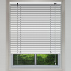Customized decorative manual pvc Faux wood venetian window blinds